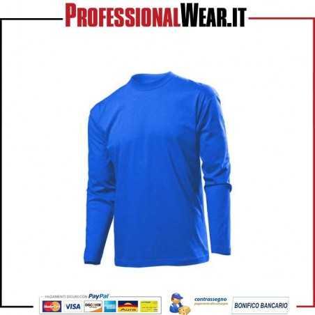 T-Shirt Uomo girocollo manica lunga STEDMAN CLASSIC-T
