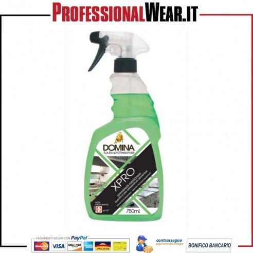 Detergente Sgrassante XPRO HACCP non profumato 750ml