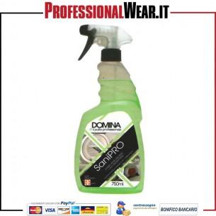 Detergente Sanificante Igienizzante SANI PRO Trigger non profumato flacone da 750ml