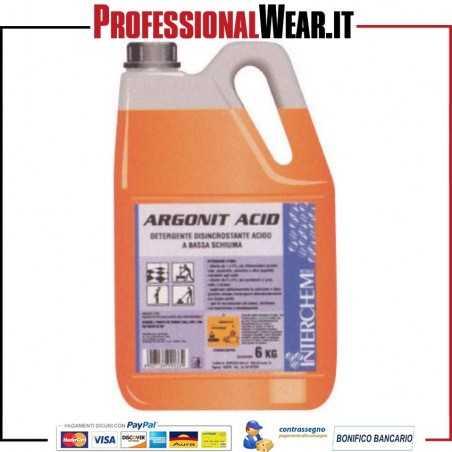 Detergente Disincrostante ARGONIT ACID tanica da 6 kg