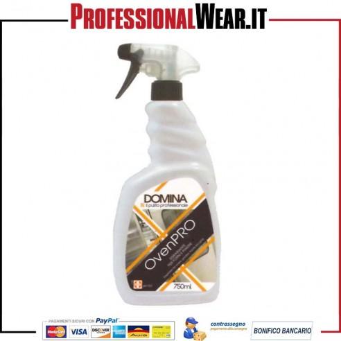Detergente Disincrostante OVEN PRO detergente alcalino forni/piastre flacone da 750 ml
