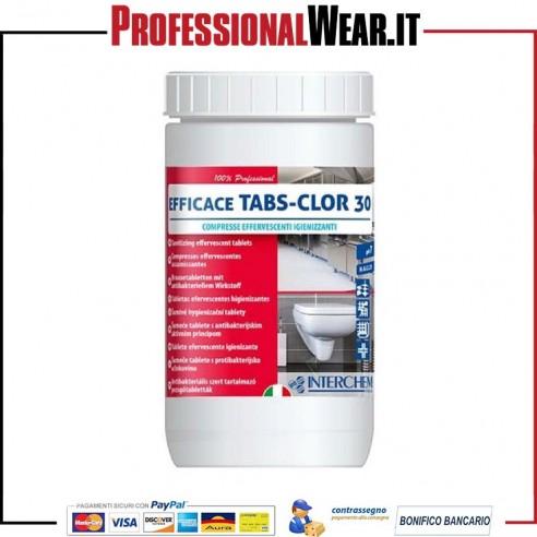 Detergenti Lavastoviglie EFFICACE TABS-CLOR 30 barattolo da 1kg