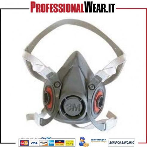 Maschera facciale filtrante 6300 3M 1 €32.10003