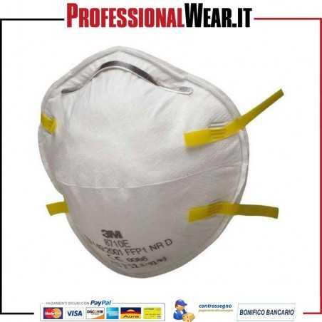 Mascherina 3M 8710 FFP1 senza valvola (confezione 20 pezzi)