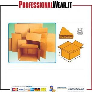 Scatole di cartone un'onda bassa mm.250x300x200H 1|€1.199992