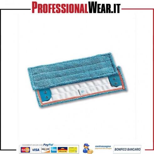 Ricambio panno wet system micro blu b.rosso mis. 40x13