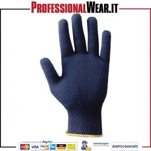 Guanto da lavoro thermo colore blu dupont