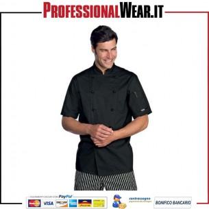 Giacca da Cuoco modello EXTRALIGHT mezza manica Isacco 1 €21.370008