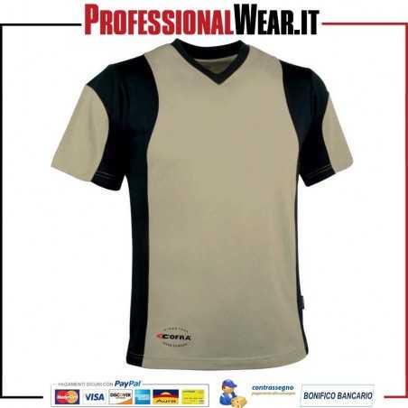 T-Shirt girocollo manica corta Cofra JAVA