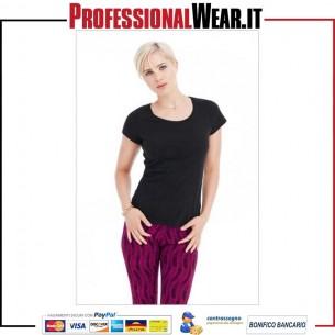 T-Shirt Donna girocollo manica corta Nano Stedman HN1100