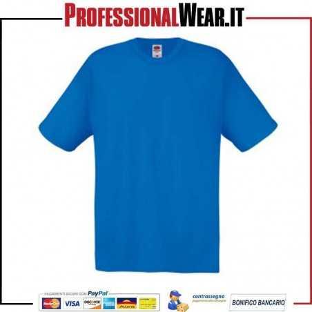 T-shirt girocollo UOMO manica corta FRUIT OF THE LOOM 61082 Fruit of the Loom 3|€2.99998