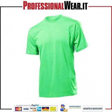 T-Shirt girocollo UOMO manica corta Classic Stedman