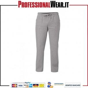 Pantalone da Cuoco Chef Unisex Giblor's ALAN sale e pepe Giblor's 1|€16.999968