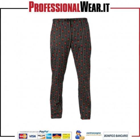 Pantalone da Cuoco Chef Uomo Giblor's ATENE Peperoncino Giblor's 1|€33.000024