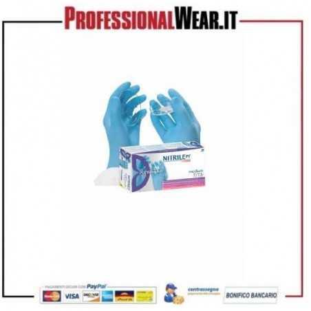 Guanto in NITRILE medicale senz/polvere (cf 100 pz)