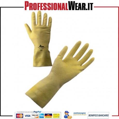 GUANTO da Lavoro CASALINGO GIALLO (Confezione 12 paia)