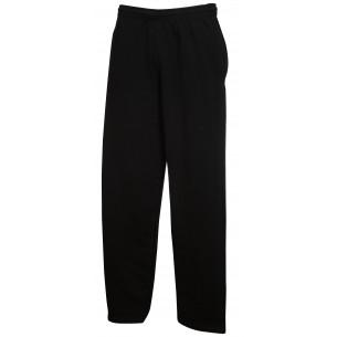Pantalone felpato da UOMO con Fondo Dritto