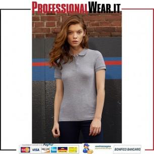 Ispirare le donne Polo Piquè M / C 100% Cotone 170 gr / m2
