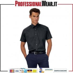 Sharp Uomini Camicia Twill Tasc.M / C 100% Cot 130 gr / m