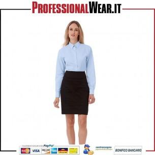 Oxford Camicia Donna M / L 70/30% Cot / Pol 135 gr / m2