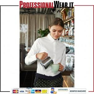 Black Tie Donne Camicia Stret M / L 97/3% Culla / Ela135