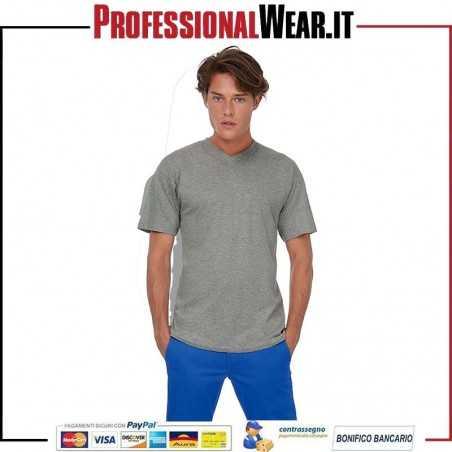 T-Shirt UOMO collo V Manica Corta Exact V-Neck