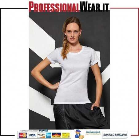 T-Shirt DONNA Girocollo Corta Sublimation