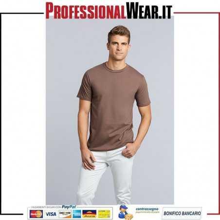 T-Shirt UOMO Girocollo Manica Corta Premium Cotton