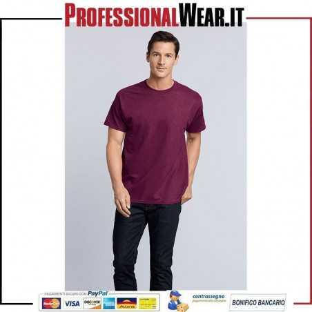 T-Shirt Girocollo UOMO Manica Corta Heavy Cotton