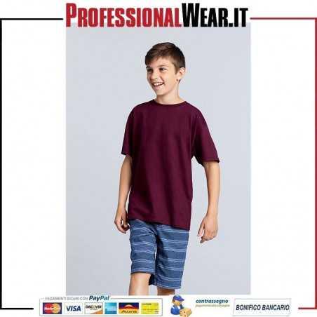 T-Shirt Bambino Girocollo Heavy Cotton