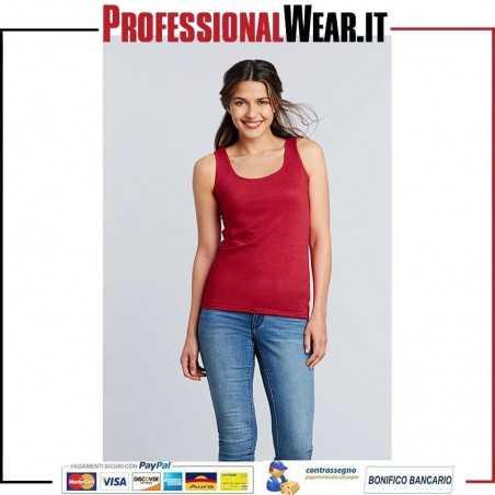 Soft Style Donna Canottiera 100% Cot 150 gr / m2