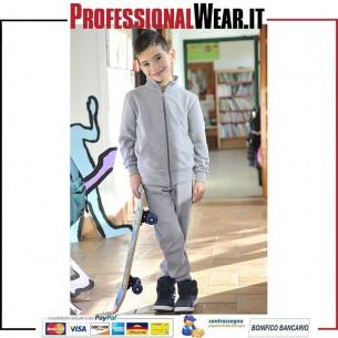 Pantalone Bambino Felpa 70/30% Culla / Pol 280 gr / m2