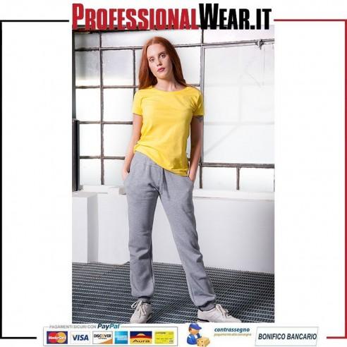 Pantalone felpato Donna 70/30% Culla / Pol 280 gr / m2