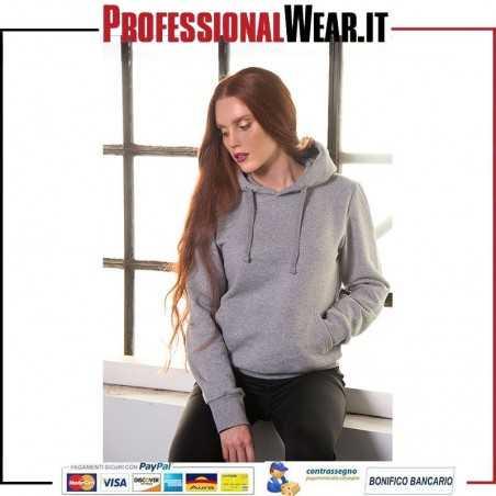 Felpa Donna Cappuccio 70/30% Culla / Pol 280 gr / m2