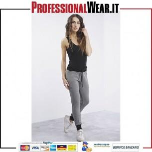 Pantalone donna Felpa stirata 95/5% Cot / Ela 250 gr