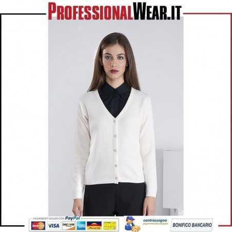 Pullover Donna Lana 50/50% Lan / Acr 500 gr / m2