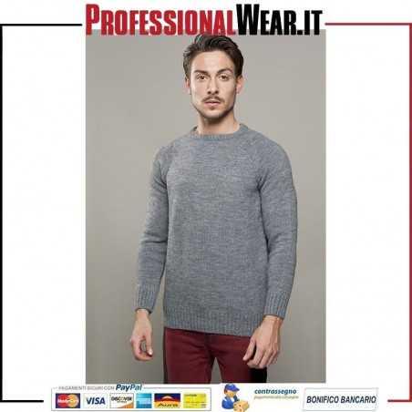 Pullover Pesante G / C 80/10/5/5% Acr / Lan / Alp / Vis