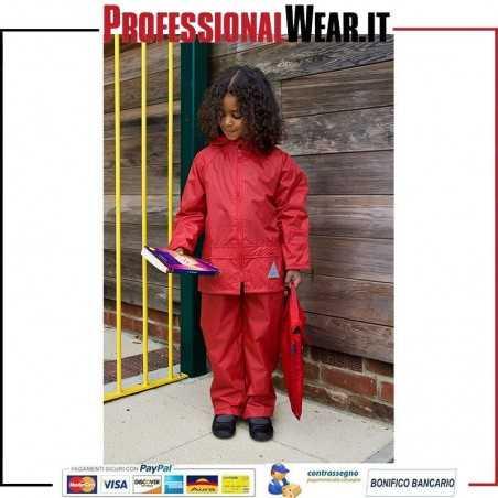 SET Bambino/a Giacca e Pantalone Junior Waterproof