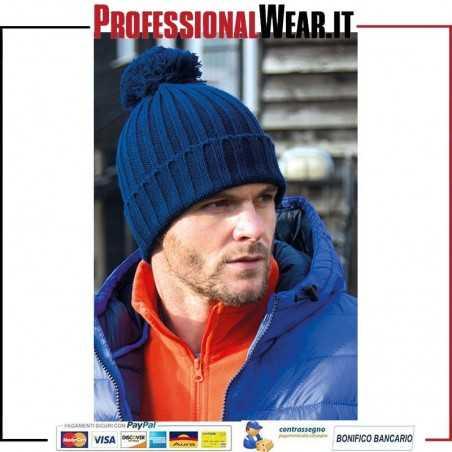 Cappello lavorato a maglia con pompon HDi Quest
