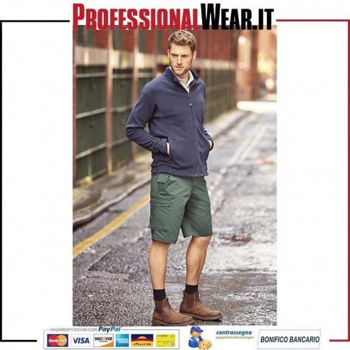 Pantaloncino Lavoro in twill 65/35% Pol / Cot 245 gr