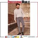 HD Pantalone Felpa F / Terry 65/35% Pol / culla 255 gr / m