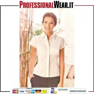 Camicia Popeline donna 65/35% Cot / Pol 115 gr / m2