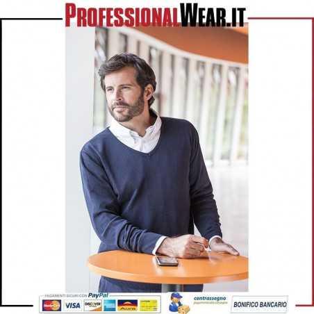 Ponticello pullover C / V 50/50% Cot / Acr