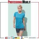 Attivo Sport-T Maglia Donna G / CM / C 100% Pol.140g