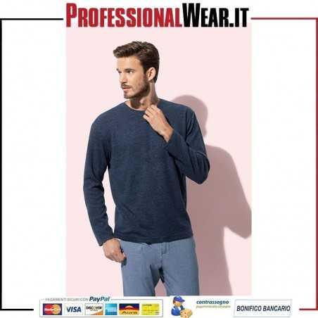 MAGLIA pullover M / L Pol / Vis / Ela 58/37 / 5% 210