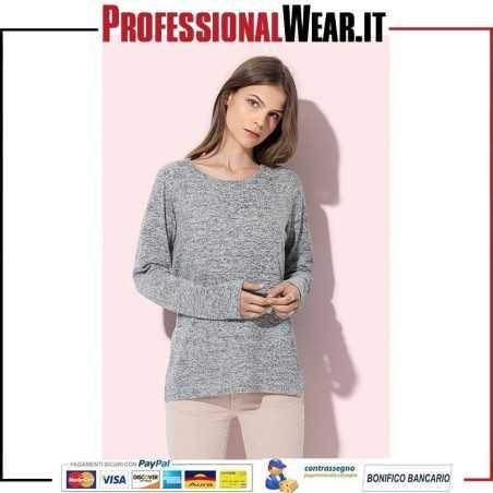 MAGLIA Donna M / L Pol / Vis / Ela 58/37 / 5% 210 gr