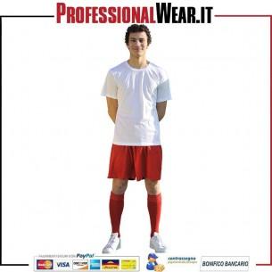 Pantaloncino sport dinamico al 100% Pol. 115 gr / m2