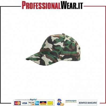 Cappello 5 Pannelli Camouflage