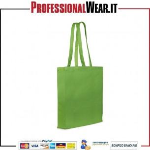 Borsa Shopping tela di canapa 100% Cotone 250 gr / m2