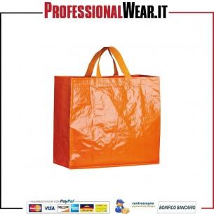 Borsa Shopping M / Corti 100% polipropilene 120 gr / m
